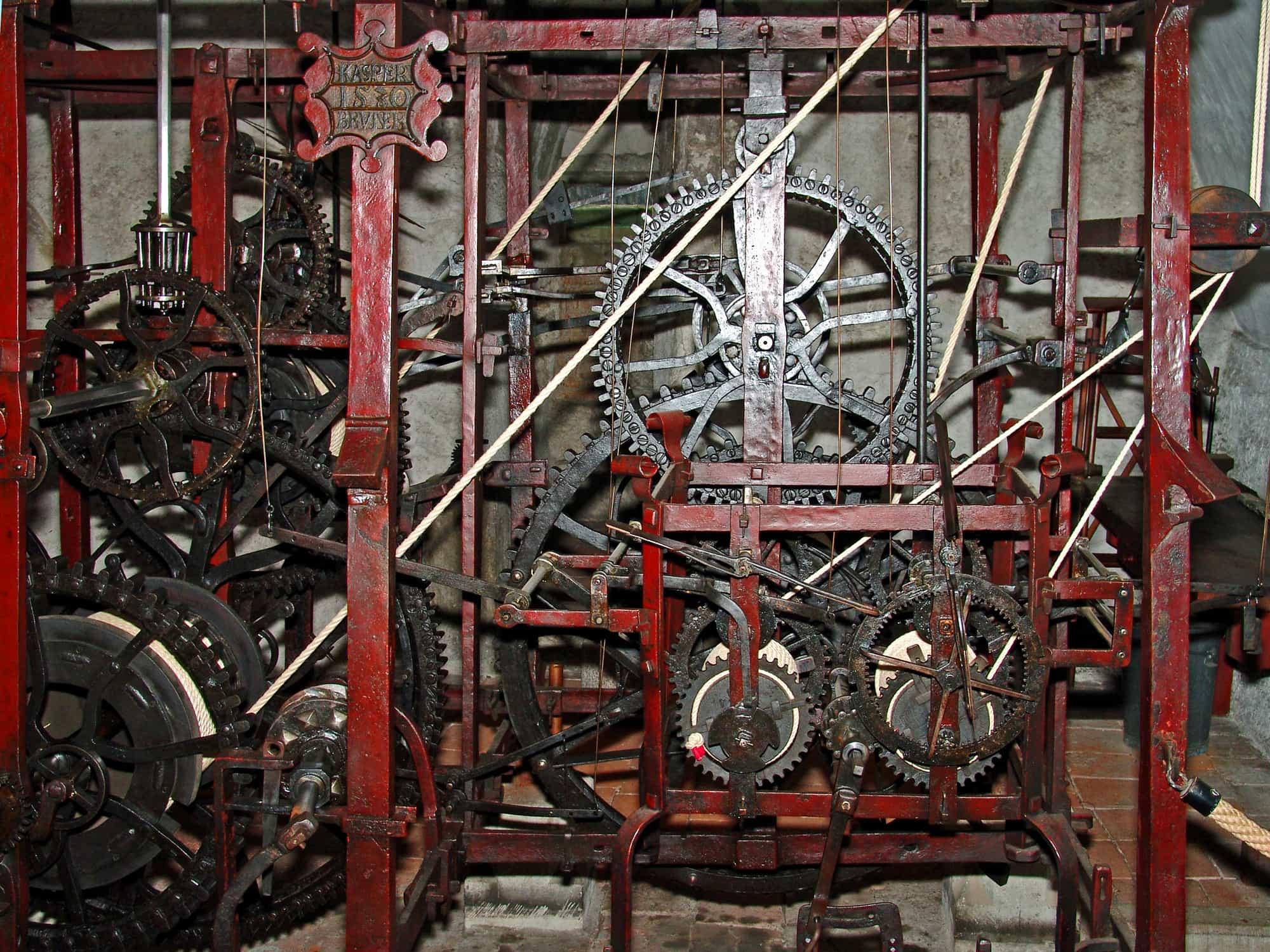 伯尔尼钟楼 — 古老的复杂机械钟表